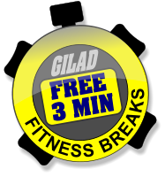 FITNESS BREAKS GILAD 3 MIN FREE